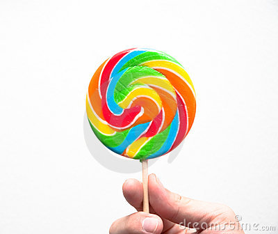 Candy lolly-pop