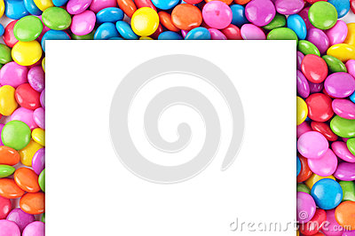 Candy with paper