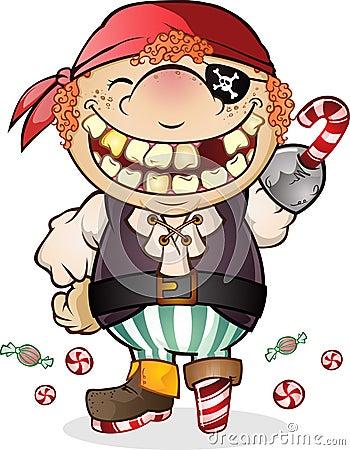 Candy Pirate Costume