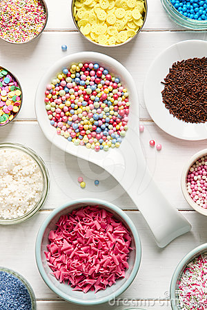 Candy sprinkles