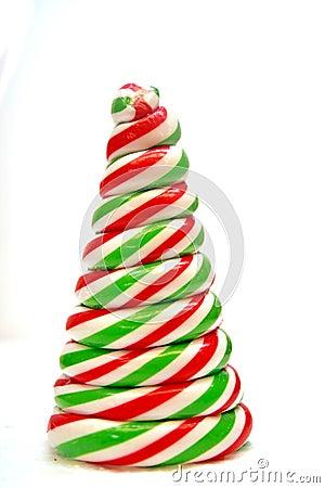 Candy  tree shape