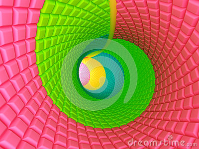 Candy tunnel