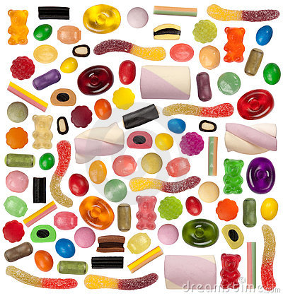 Free Candy Variety Royalty Free Stock Images - 21909569