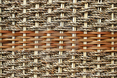 Cane weave.