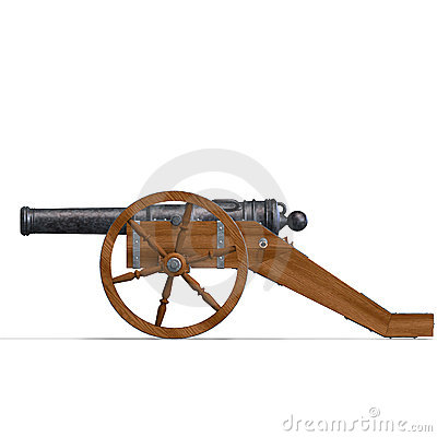 Canhão da artilharia de exército de campanha