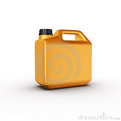 Canister, motor oil bottle