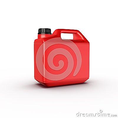 Canister, motor oil bottle