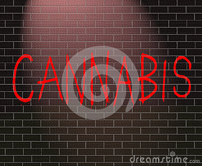 Cannabis concept.
