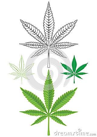 Free Cannabis Marijuana Leaf Royalty Free Stock Image - 74978486