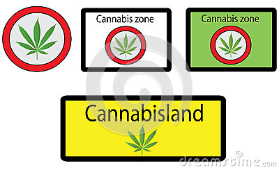 Cannabis signs