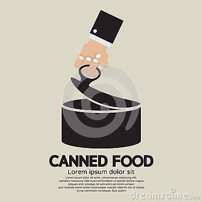 Free Canned Food Royalty Free Stock Photo - 40539165