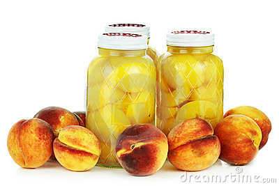 Canned and Fresh Peaches