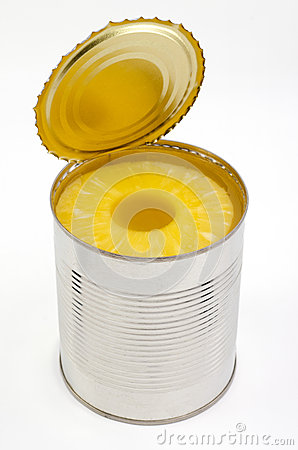 Free Canned Pineapples Royalty Free Stock Photos - 35688598