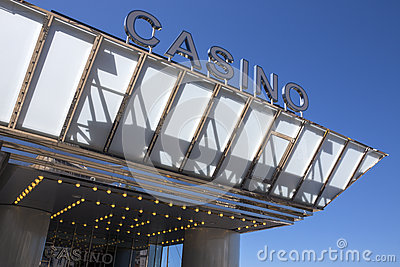 Cannes Casino - Cote dAzur - South of France Editorial Photography