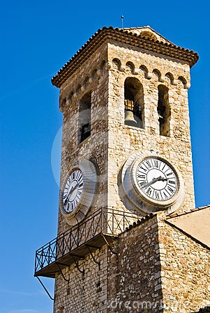 Cannes clock tower