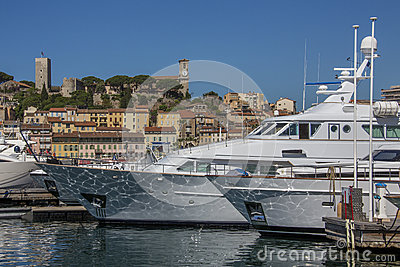 Cannes Old Town and Harbor - French Riviera