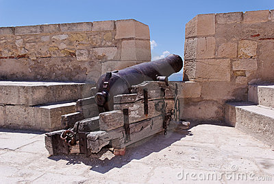 Cannon at Castle