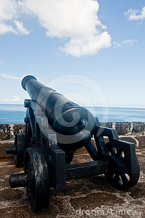 Cannon at Fort St. George