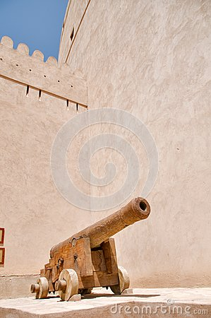 Cannon in Rustaq fort