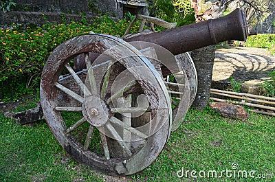 Cannon in Taytay, Palawan