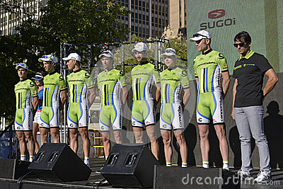 Cannondale Professional Cycling Team Editorial Photography