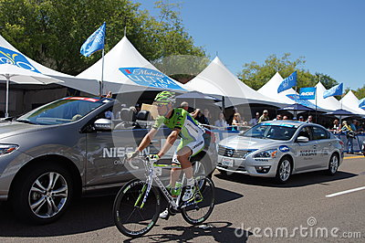 Cannondale Rider 2013 Amgen Tour of CA Editorial Photo