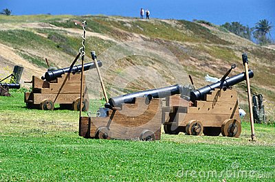 Cannons from the 16th century