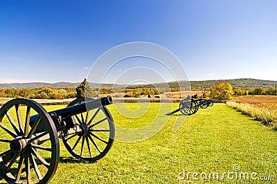 Cannons at Antietam - 3