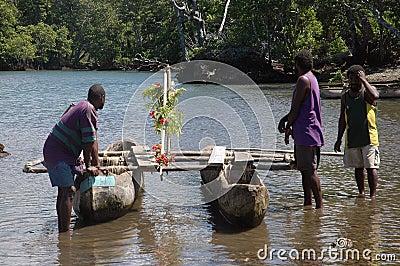 Canoe. Editorial Photo