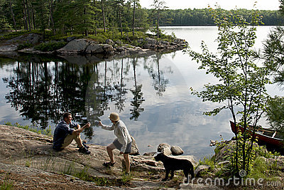 Canoe Camping in Canada