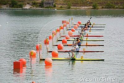 Canoe and Kayak Italian Championships Editorial Photography