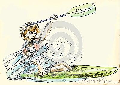 Canoe racer
