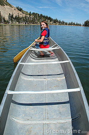 Canoeing at the Lake