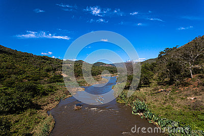 Canoeing River Race Valley Editorial Stock Photo