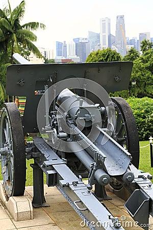 Canon dans Istana Singapour