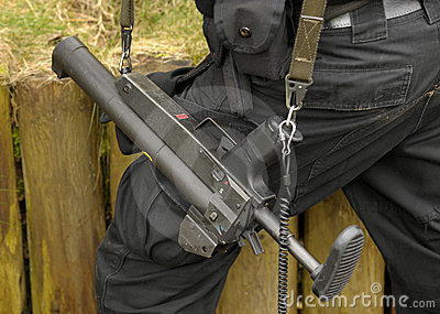 Canon de bâton de SWAT