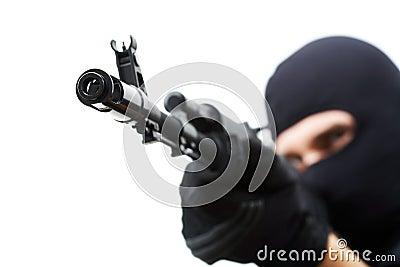 Canon du pistolet