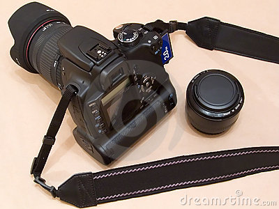 Canon EOS 350D Digital Rebel dSLR camera (unbranded)