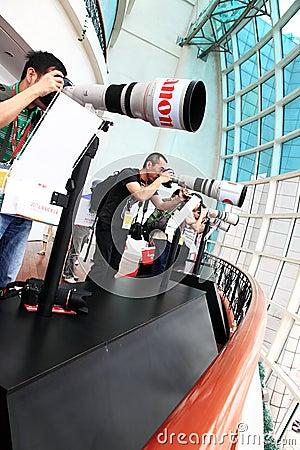 Canon expo 2011 Editorial Photo