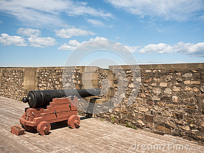 Canon at a Fort