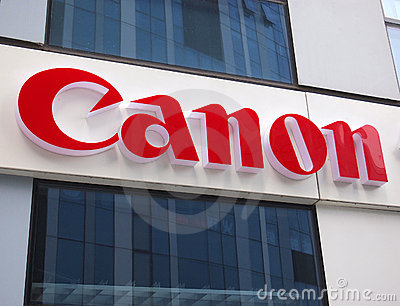 Canon Logo Editorial Stock Image