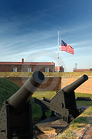 Canons at Fort McHenry, Baltimore