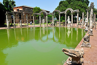 The Canopo in Hadrian Villa, Tivoli - Rome