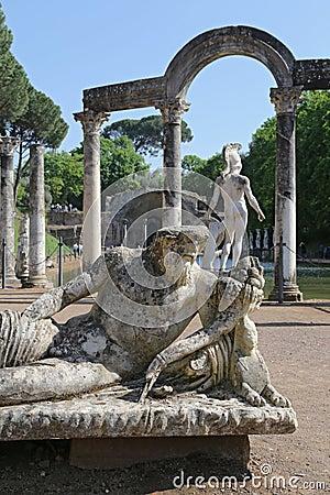 Canopus of the Hadrian Editorial Stock Photo