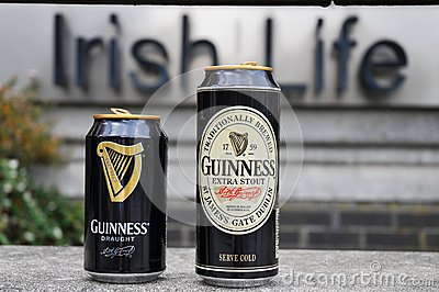 Cans of Guinness Editorial Photo
