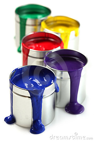 Free Cans Of Paint Stock Images - 16154574