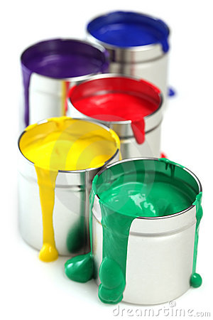 Free Cans Of Paint Stock Images - 17915104