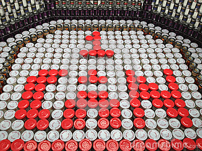 CanStruction charity - Sculptures Made from Cans Editorial Image