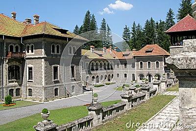 Cantacuzino Palace courtyard