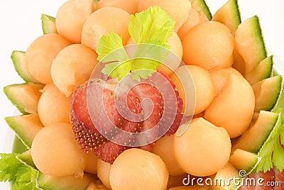 Cantaloupe Melon Balls